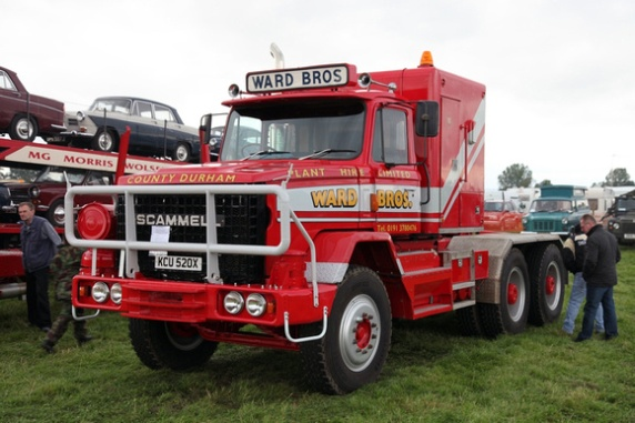 1980s Scammell S24 Haulage Tractor