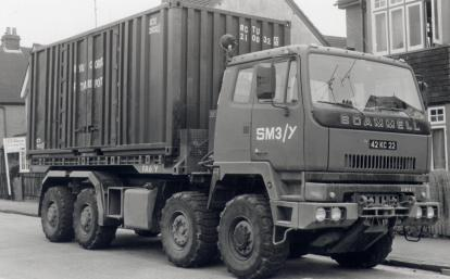 1980s Scammell S26 8X6 Drops Lorry