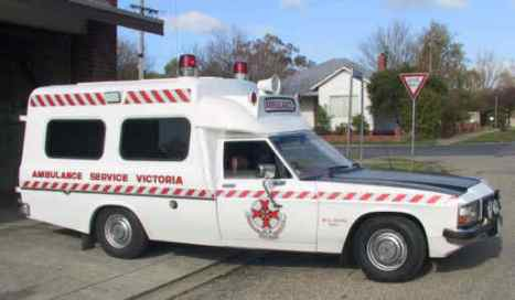 1982 Holden WB Long Distance Ambulance