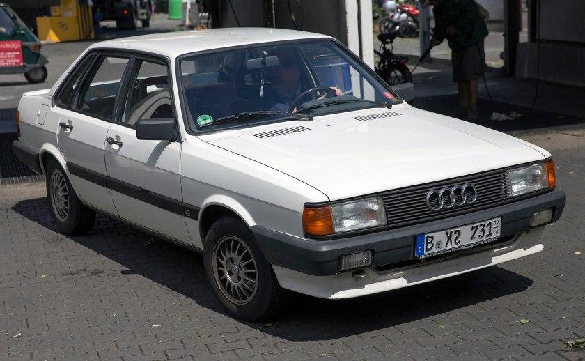 1986 Audi 80 GT (white)