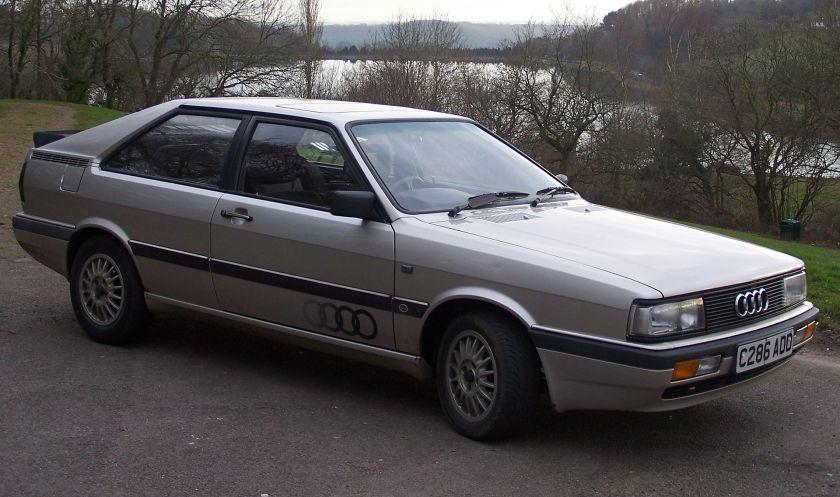 1986 Audi Coupe GT5E