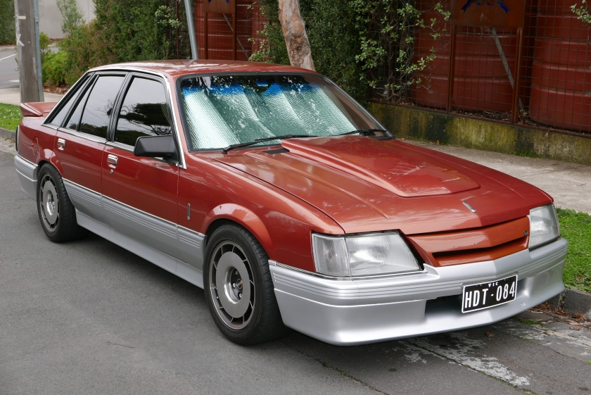 1986 Holden Calais (VK) sedan, with HDT ADP upgrades