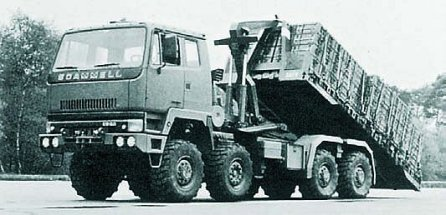 1987 Scammell S26, 8x8