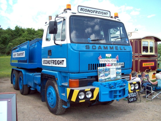 1988 Scammell S26 Ballast Trailer Engine 14,000cc
