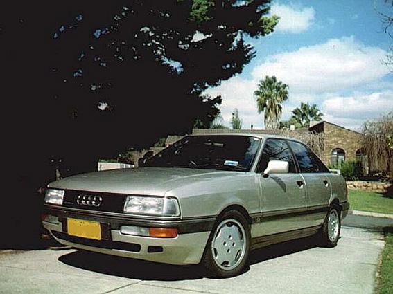 1989 Audi 90 quattro 20 valve 125kW (170 Bhp) inline 5-cylinder engine quattro all-wheel-drive
