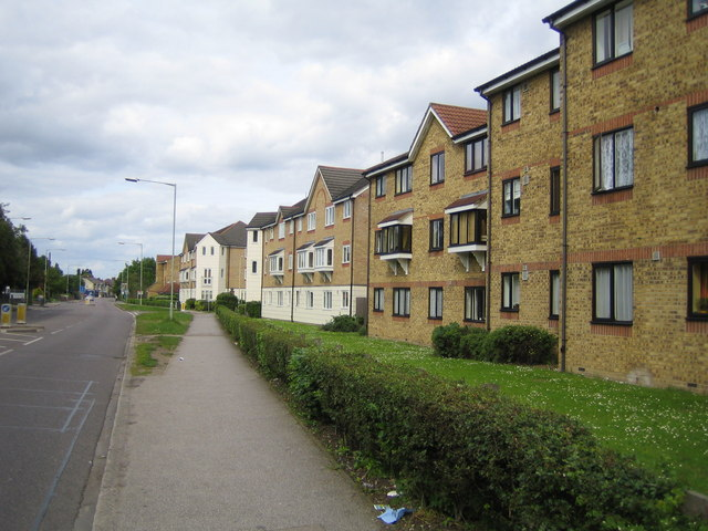 1990's Houses developed on the former Tolpits Lane works