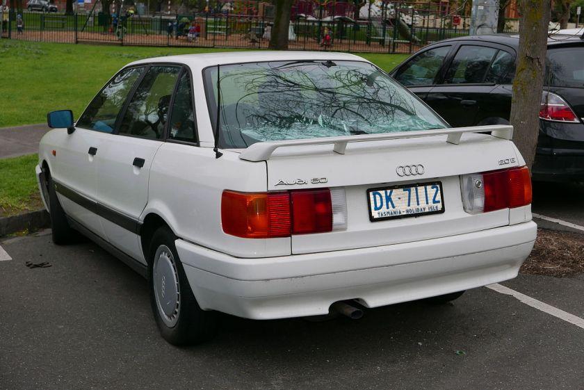 1992 Audi 80 (8A) 2.0 E sedan