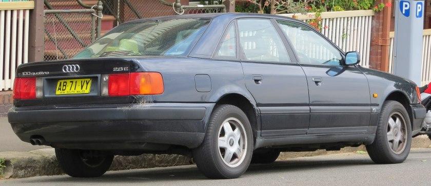 1993 Audi 100 (4A) 2.8 E quattro sedan (2012-10-26)