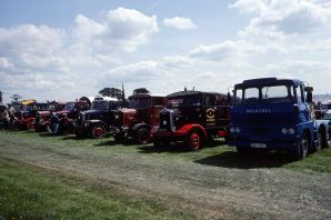 1993 Scammell lorries, Abbey Hill, Yeovil