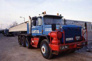 1993 Scammell S24 (Q149JKO) Curtis
