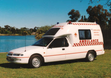 1994 Holden VR Commodore LAV Ambulance