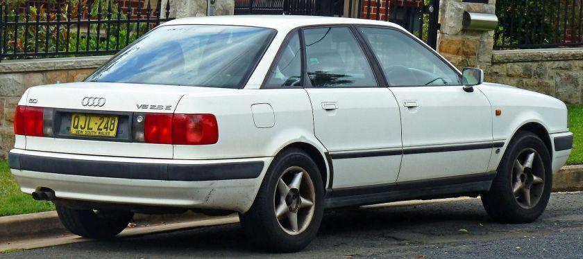 1995 Audi 80 (8C) 2.6 E sedan