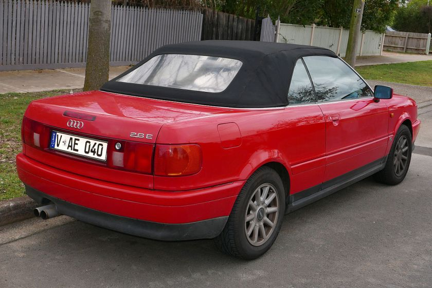 1995 Audi Cabriolet (8G) 2.6 E convertible