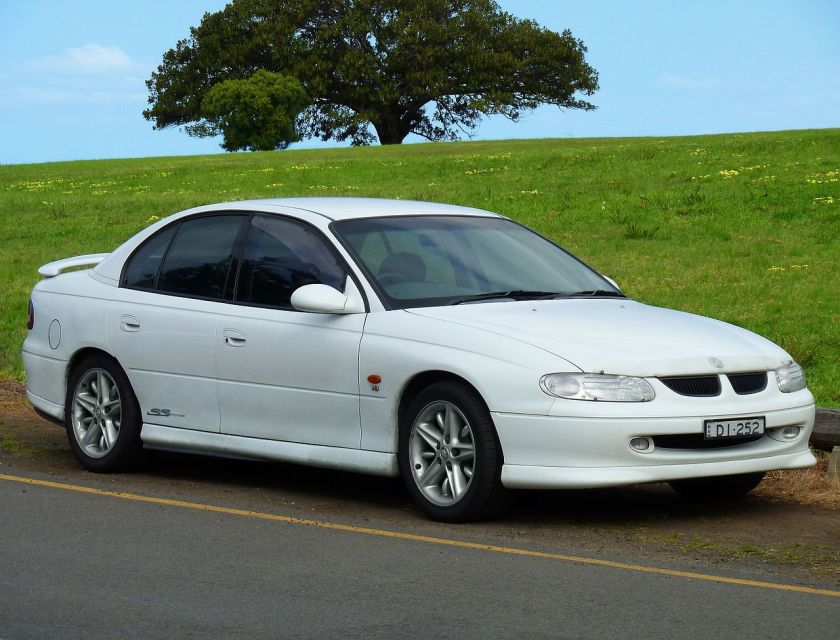1999 Holden Commodore (VT) SS sedan