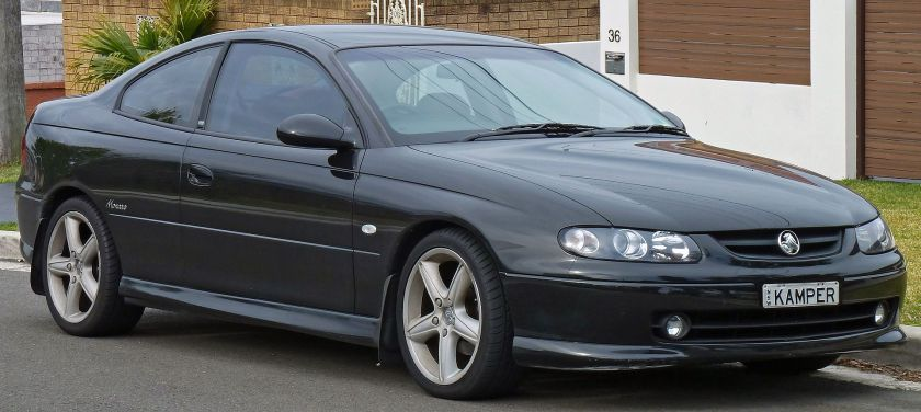 2001-2002 Holden Monaro (V2) CV8 coupe