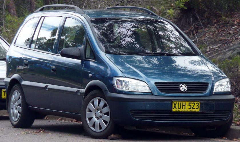 2001-2003 Holden Zafira (TT) van