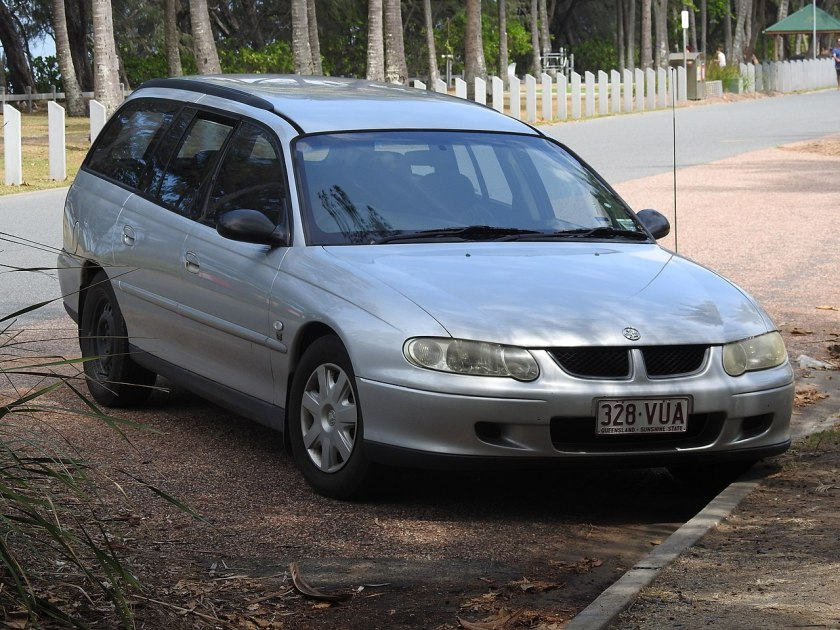 2002 Holden Commodore VXII Wagon