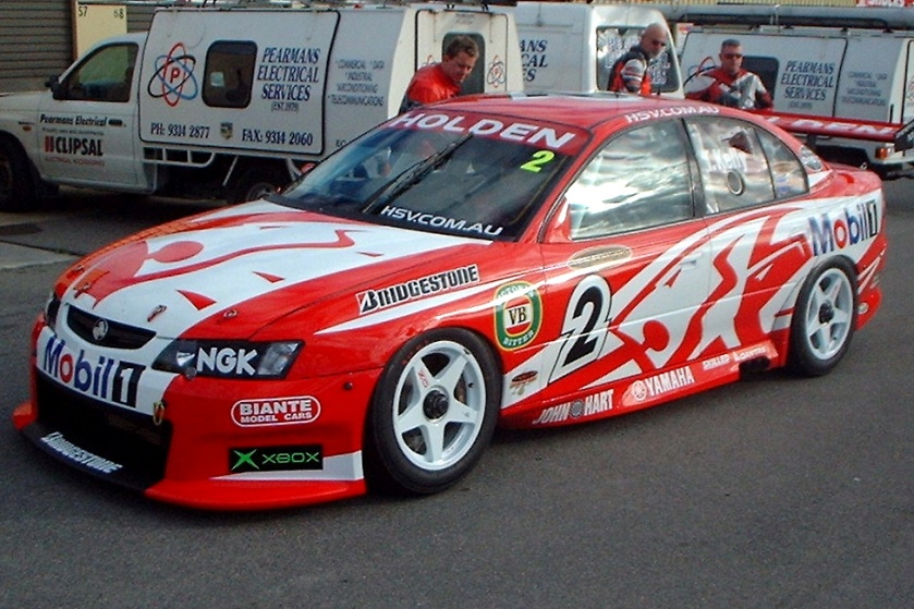 2003 Todd Kelly's Holden Commodore VY at Barbagello