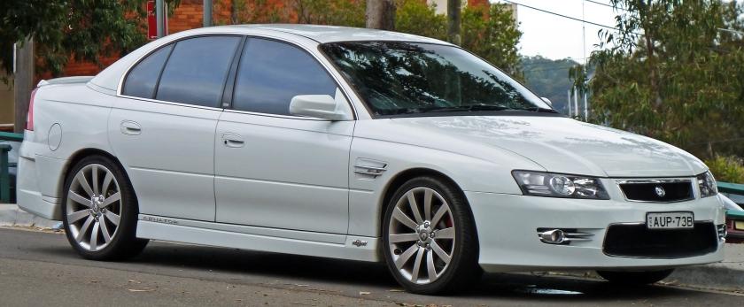 2004-2006 HSV Senator (Z Series) sedan