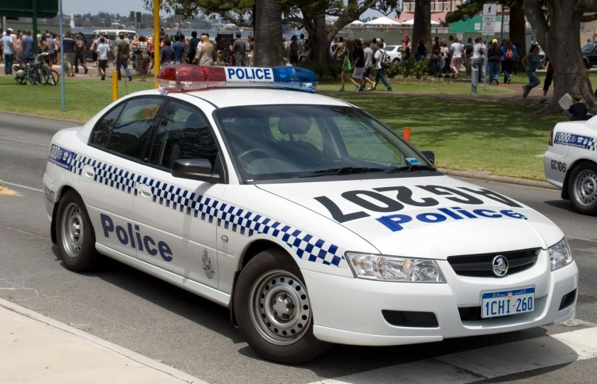 2004 Holden VZ Commodore Police Perth District