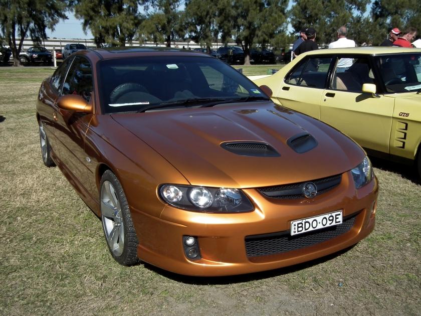 2005 Holden VZ Monaro CV8-Z coupe