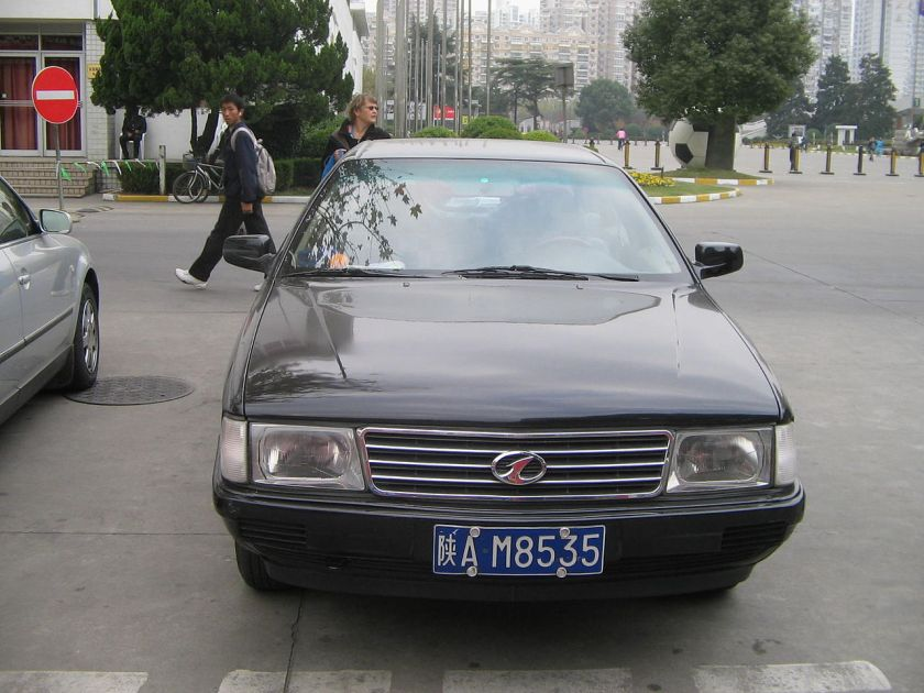 2006 Hongqi CA7202 in Shanghai Chinese version of Audi 100