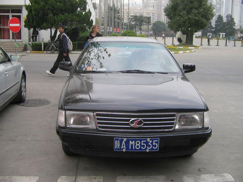 2006 Hongqi CA7202 in Shanghai Chinese version of Audi 100