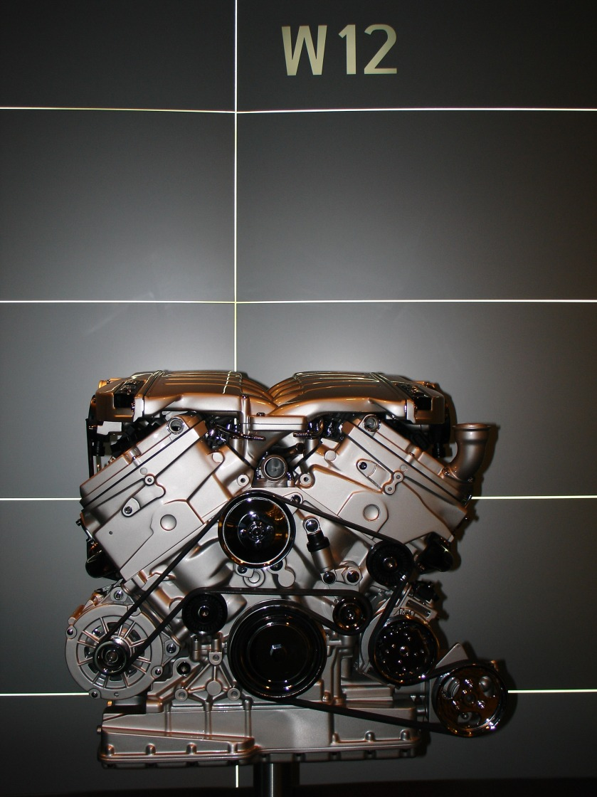 2006 Volkswagen W12 engine