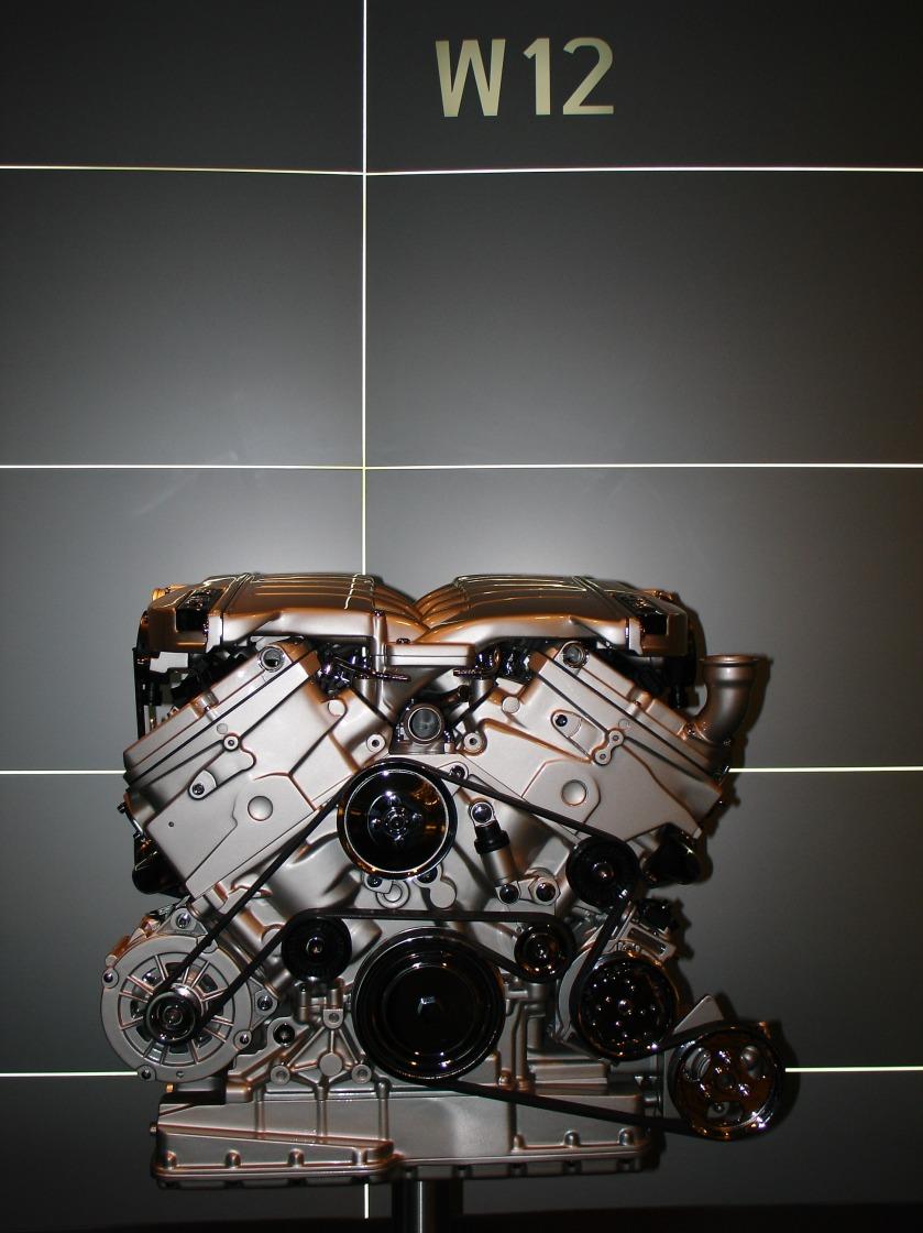 2006 Volkswagen W12 engine