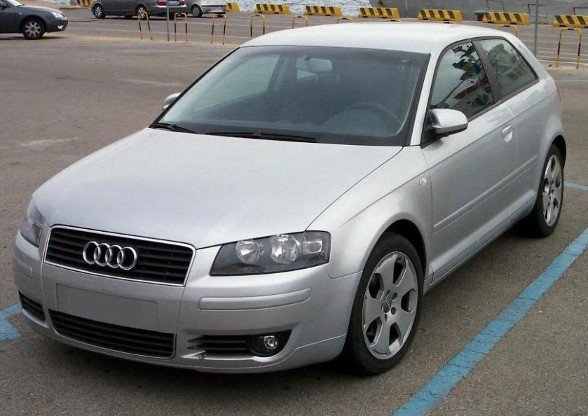 2007 Audi A3 silver vl