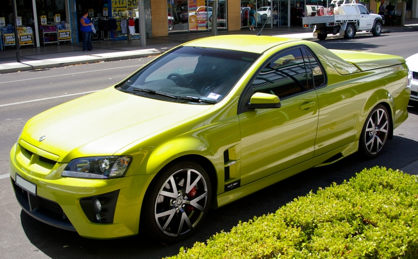 2007 HSV Maloo (E Series MY08.5) R8 utility