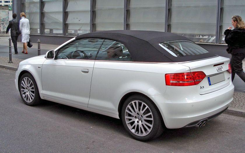 2008 Audi A3 Cabriolet (8P)