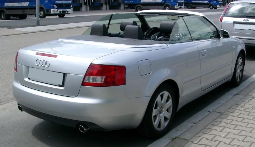 2008 Audi A4 B6 Cabriolet