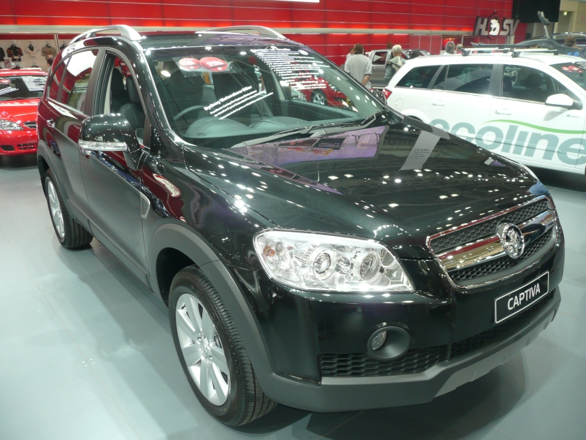 2008 Holden CG Captiva (MY08) LX