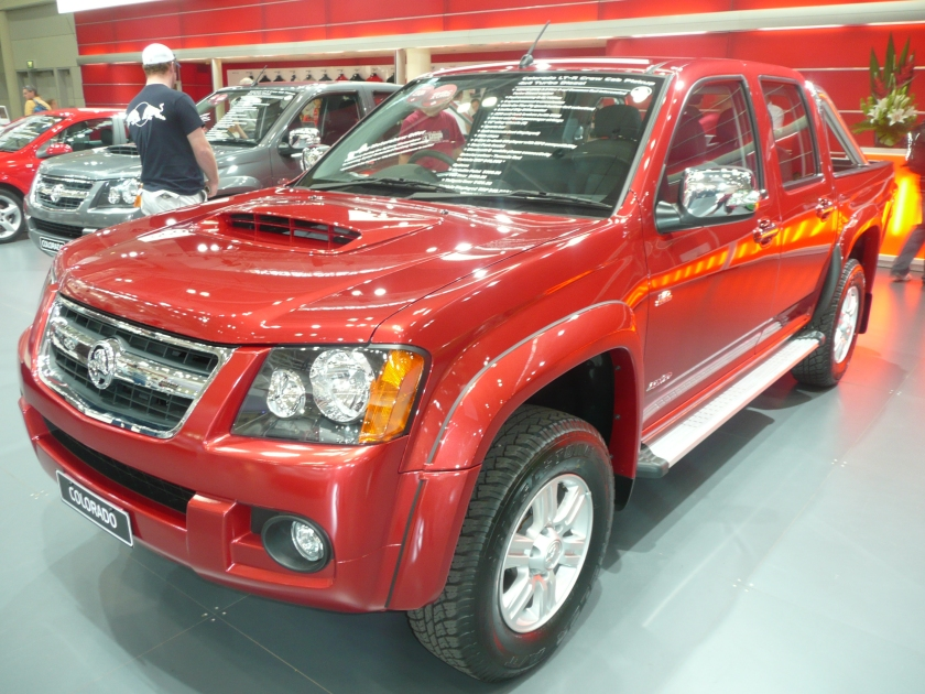 2008 Holden RC Colorado LT-R Crew Cab 4-door utility