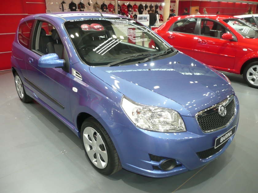2008 Holden TK Barina (MY09) 3-door hatchback