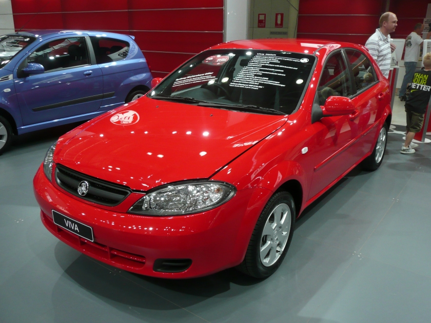 2008 Holden Viva (JF MY09) hatchback