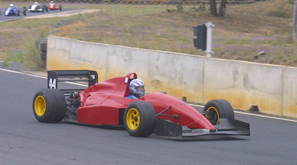 2008 Reynard 92D Holden driven by Bill Norman in he Queensland Racing Drivers Championship