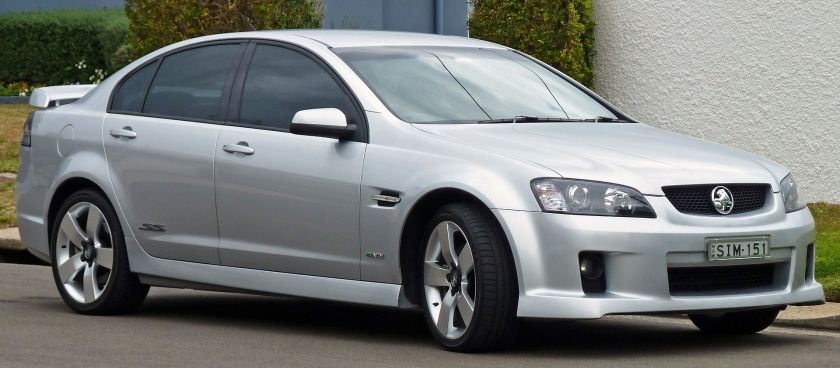 2009-2010 Holden VE Commodore SS V sedan