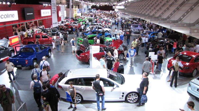 2009 Holden stand at the 2009 Melbourne International Motor Show