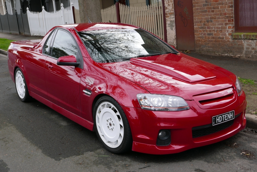 2011 Holden Ute (VE II MY11) SS V utility, with HDT VK Group A Retro upgrade