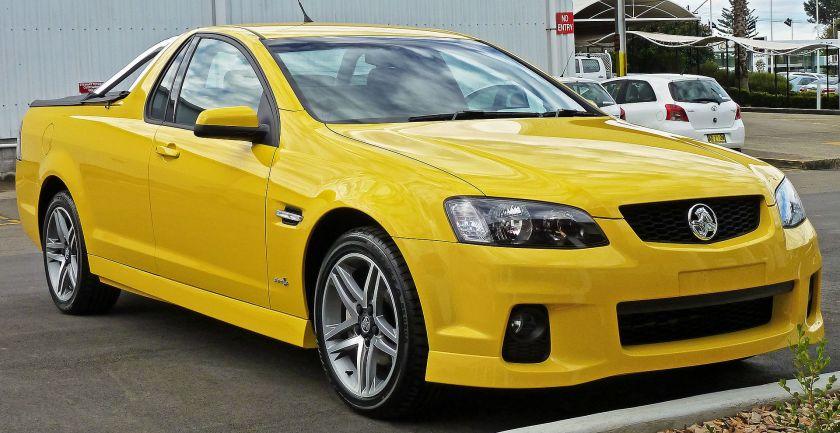 2011 Holden Ute (VE II MY11) SV6 utility