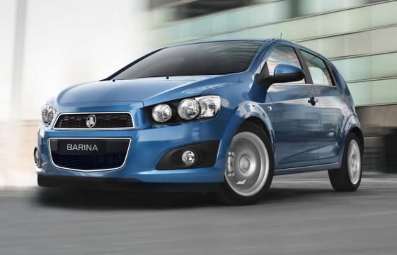 2012 Holden Barina Australia