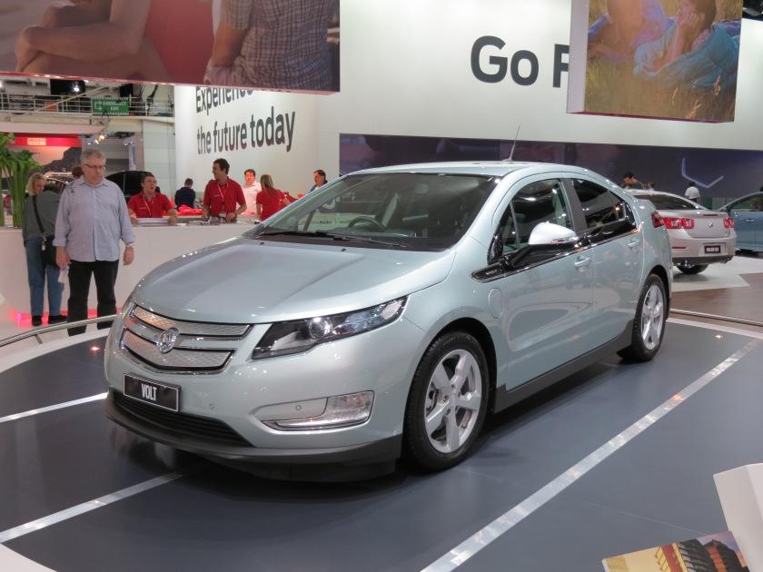 2012 Holden Volt (EV) hatchback