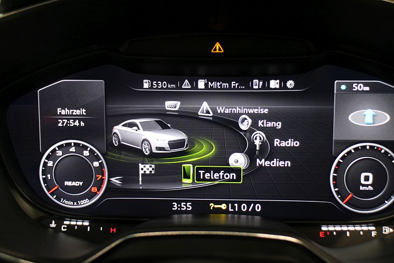 2014 Audi TT virtual cockpit