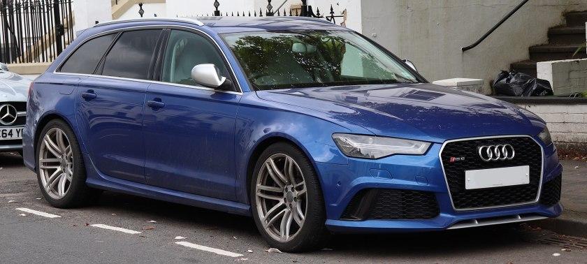 2015 Audi RS6 Avant TFSi Quattro Automatic 4.0