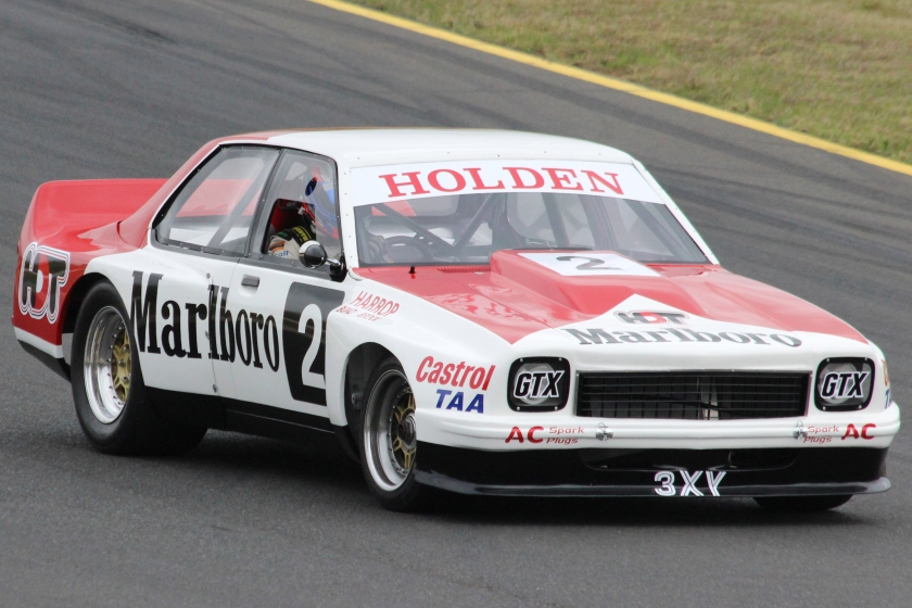 2015 Holden LH Torana Sports Sedan built by the Holden Dealer Team, pictured at the 2015 Muscle Car Masters