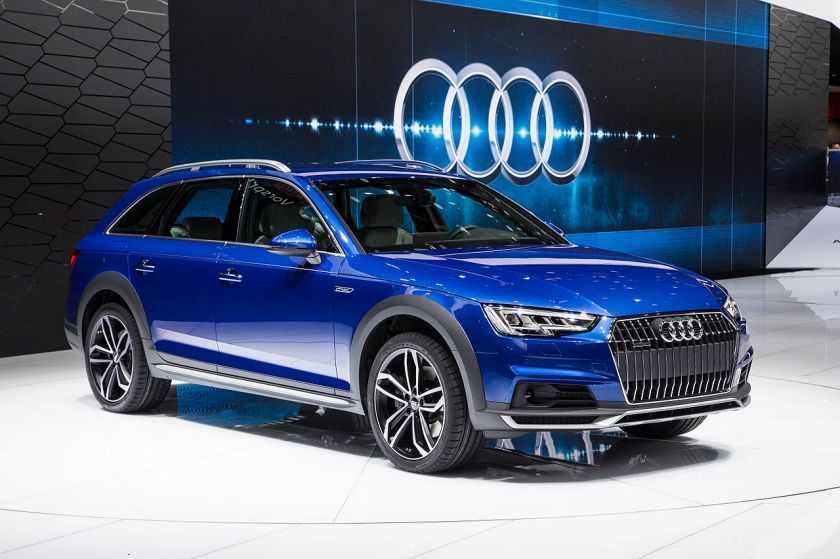 2016 Audi A4 allroad quattro A4allroad Detroit_Auto_Show_2016