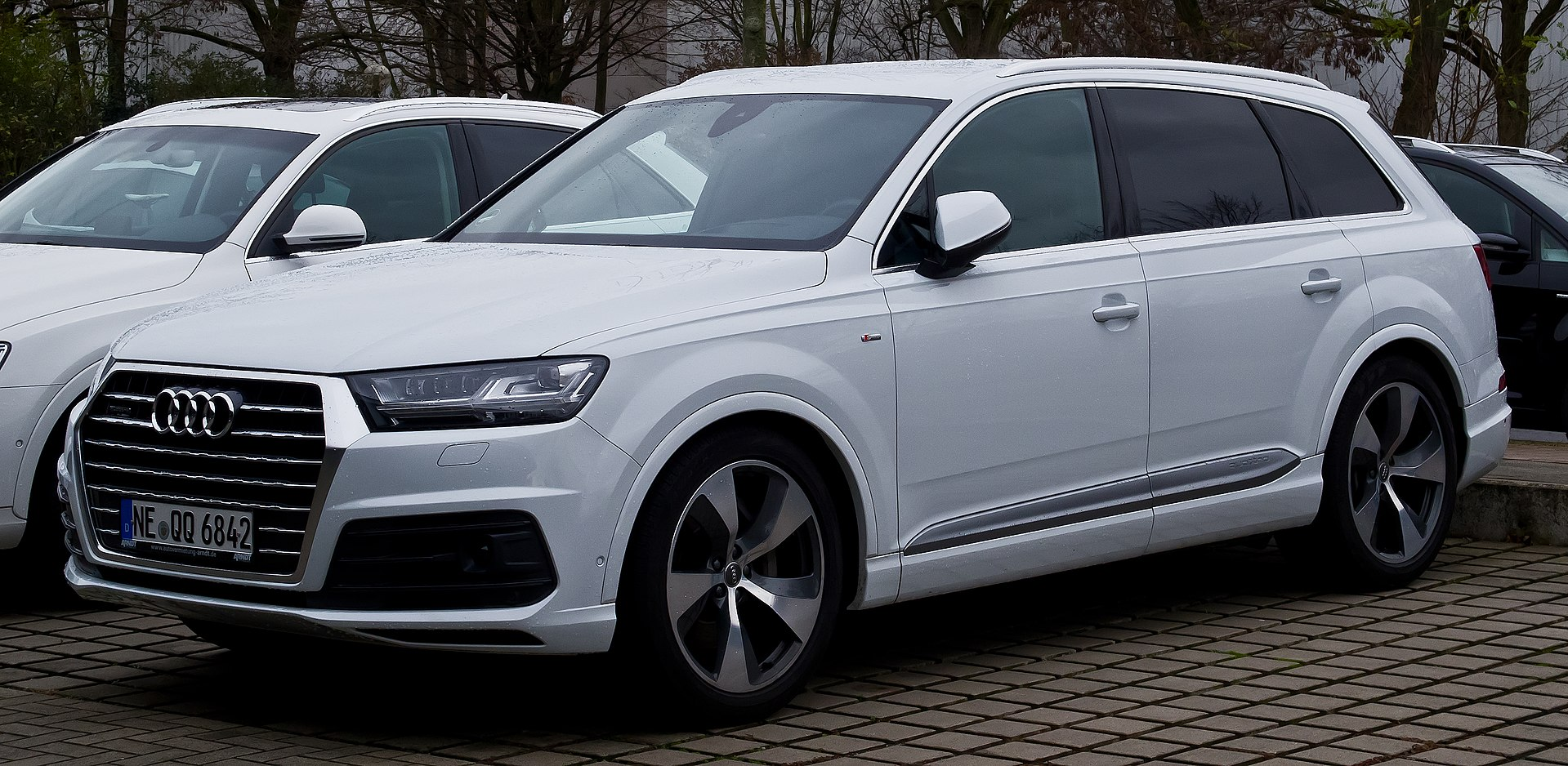 Changing for Audi A4/Avant from 2008/to 2014/Integrated Rails Model Tiger XL Aluminium Bars