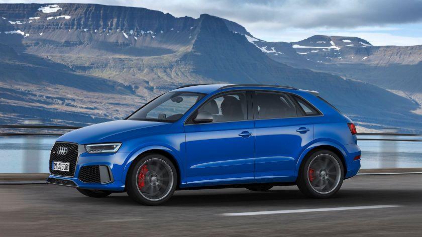 2016 Audi RS Q3 performance